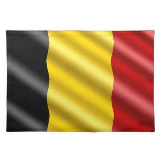 Bandera de Bélgica Salvamanteles