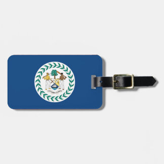 Bandera de Belice Etiquetas Para Maletas