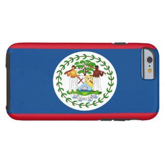 Bandera de Belice Funda Resistente iPhone 6