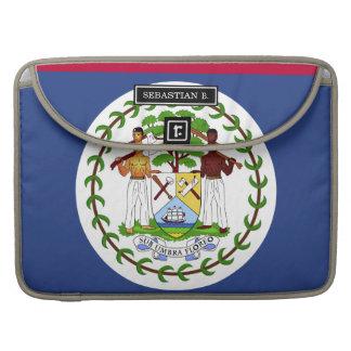 Bandera de Belice Fundas Para Macbooks