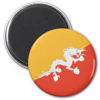 Bandera de Bhután Iman Para Frigorífico
