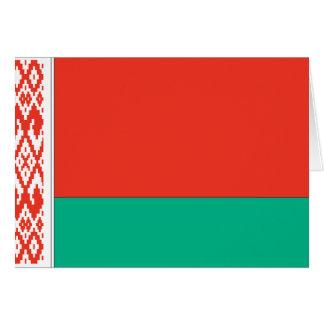 Bandera de Bielorrusia Tarjeta Pequeña