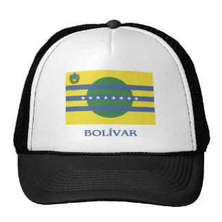 Bandera de Bolívar con nombre Gorro