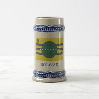Bandera de Bolívar con nombre Tazas De Café