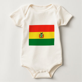 Bandera de Bolivia Body Para Bebé