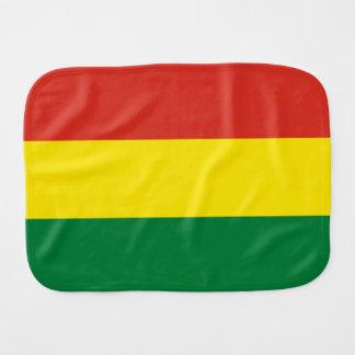 Bandera de Bolivia Paño Para Bebés
