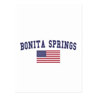 Bandera de Bonita Springs los E.E.U.U. Postal