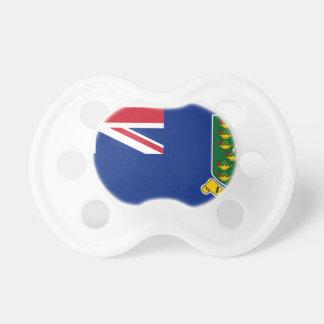 Bandera de British Virgin Islands Chupete