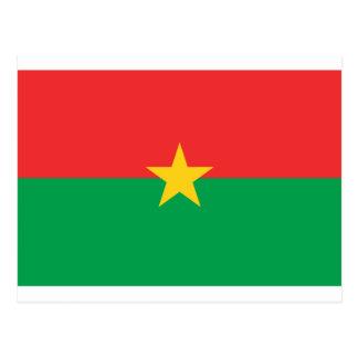 Bandera de Burkina Faso - Drapeau du Burkina Faso Postal