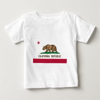 Bandera de California Camiseta De Bebé