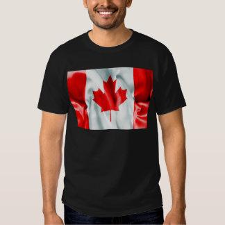Bandera de Canadá Camisas