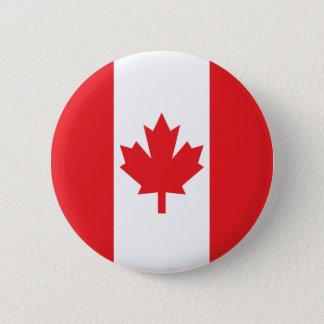 Bandera de Canadá Chapa Redonda De 5 Cm