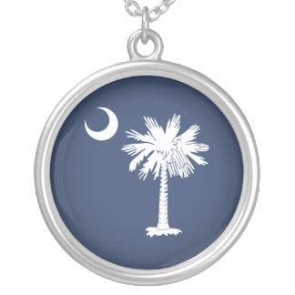 Bandera de Carolina del Sur Colgante Redondo