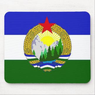 Bandera de Cascadia socialista Alfombrilla De Ratón