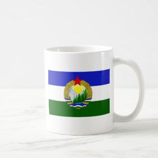 Bandera de Cascadia socialista Taza De Café