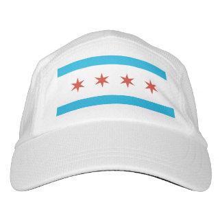 Bandera de Chicago Gorra De Alto Rendimiento