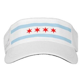 Bandera de Chicago Visera