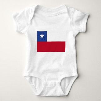 Bandera de Chile Body Para Bebé