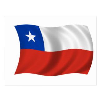 Bandera de Chile Postal