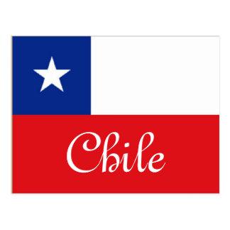 Bandera de Chile Postales
