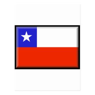 Bandera de Chile Tarjetas Postales