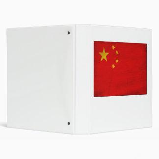 Bandera de China Carpeta 2,5 Cm