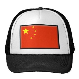 Bandera de China Gorras