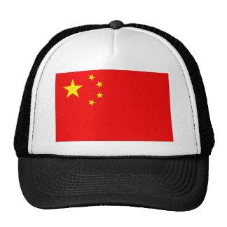 Bandera de China Gorros