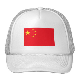 Bandera de China Gorros Bordados