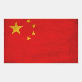 Bandera de China Pegatina
