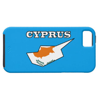 Bandera de Chipre en mapa Funda Para iPhone SE/5/5s