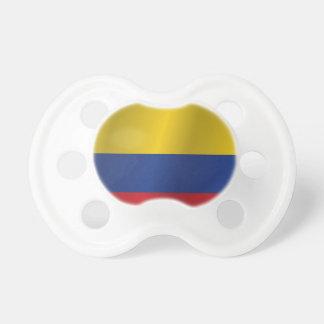 Bandera de Colombia Chupete