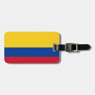 Bandera de Colombia Etiquetas Para Maletas
