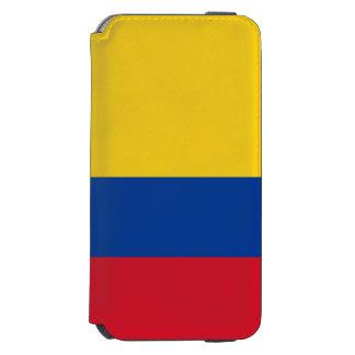 Bandera de Colombia Funda Cartera Para iPhone 6 Watson