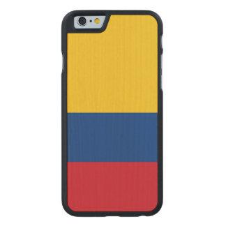 Bandera de Colombia Funda De iPhone 6 Carved® Slim De Arce