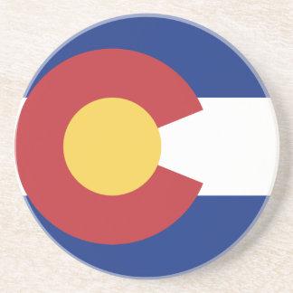 Bandera de Colorado Posavasos De Arenisca
