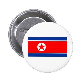 Bandera de Corea del Norte Pin