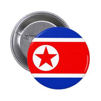 Bandera de Corea del Norte Pins