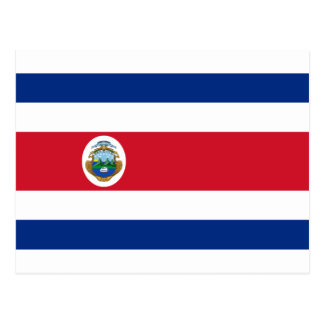Bandera de Costa Rica - bandera de Costa Rica Postal