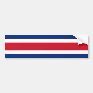 Bandera de Costa Rica, Costa Rica Pegatina Para Coche