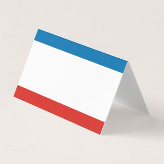 Bandera de Crimea Tarjeta