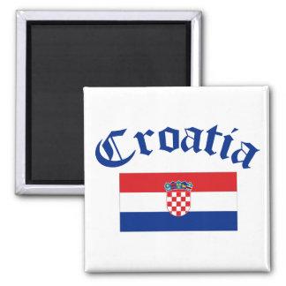 Bandera de Croacia Imanes Para Frigoríficos