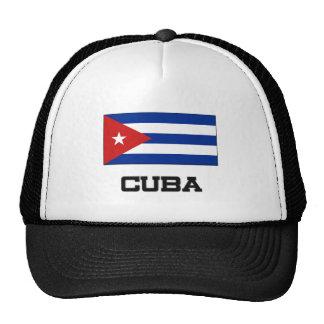 Bandera de Cuba Gorras
