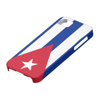 Bandera de Cuba iPhone 5 Funda