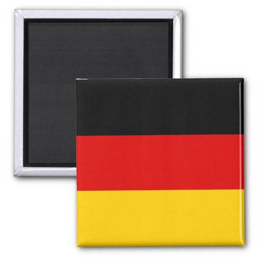 Bandera DE de Alemania Iman Para Frigorífico