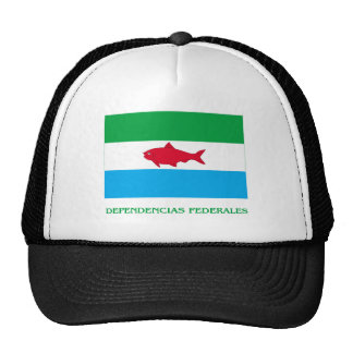 Bandera de Dependencias Federales con nombre Gorros Bordados