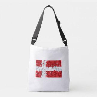 Bandera de Dinamarca, bolso danés de los colores