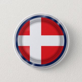 Bandera de Dinamarca, botón danés de los colores