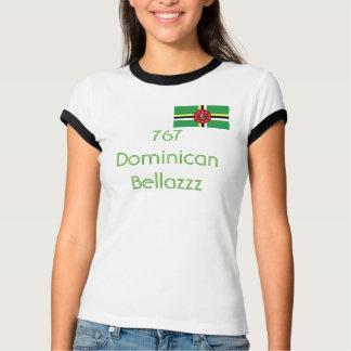 Bandera de Dominica, 767 Dominican Bellazzz Camiseta