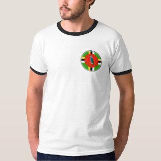 Bandera de Dominica Camisetas